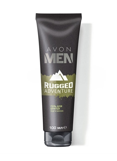 Avon Men Rugged Adventure Tıraş Jeli 100 Ml Renksiz